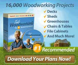 16,000 DIY WOODWORKING PROJECT IDEAS